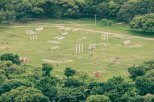 A view of the military training grounds at Hyderabad