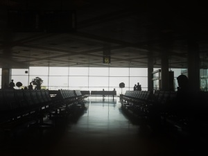 Doha Airport in the Morning