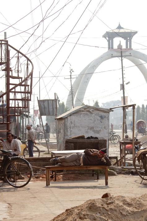Working Hard in Janakpur