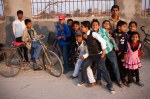 A Gang of local kids on Sarswarti Day