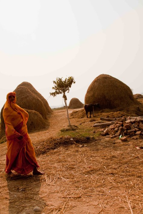 Rural Woman: Dhanusha