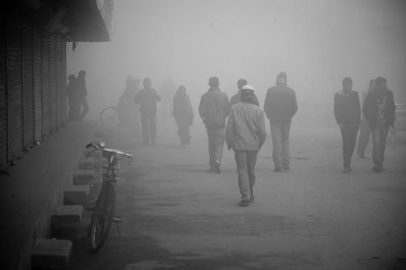Morning Mists in Janakpur