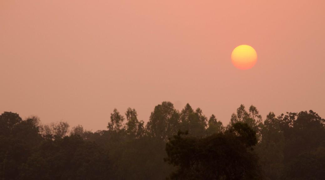 The Sun Sets on Janakpur