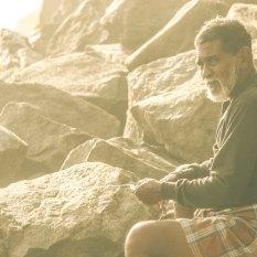 Aged fisherman at Varkala