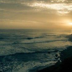 Sunset over Varkala