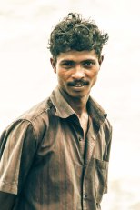 Local Keralan man portrait