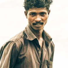 Local Keralan man portrait