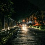Nightime streeviews Kochi