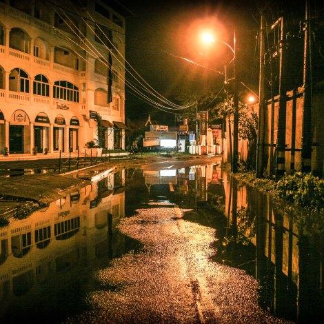 Street lamp views Kochi