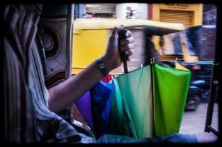 Multicolour umbrella
