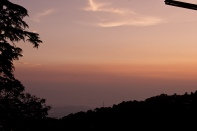 Evening Sunset before Manali
