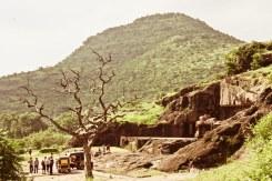 Artificial plateau at Jain temple