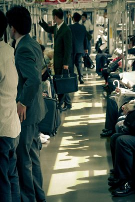 Commuter Shadows