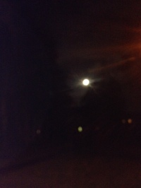 Failed attempt to capture the moonrise